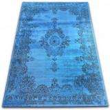 Covor Vintage Rozetă 22206/043 albastru, 120x170 cm