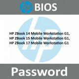 Bios UNLOCK Password  HP ZBook 15, 17, G1 Mobile Workstation