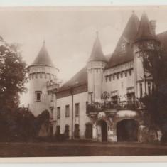Romania anii 20, CP ilustrata Carei Castelul contelui Karolyi, necirculata