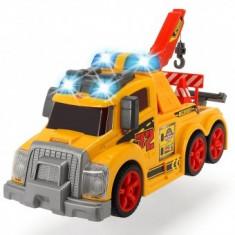 Masina de tractare Dickie Toys Fun Tow Truck cu sunete si lumini
