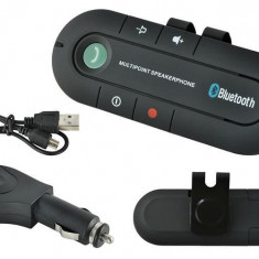 Car Kit Auto Difuzor Bluetooth handsfree pentru parasolar