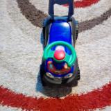 Vand masina cu volan, spatar, ride-on pentru copii