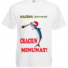 "TRICOU HAIOS CRACIUN ""MACROU AFUMAT"""
