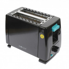 Toaster/Prajitor de paine, 650W, 6 trepte de prajire, Haeger - HG263