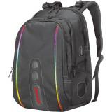 Rucsac cu iluminare RGB Marvo BA-02 15.6 inch Negru