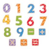 Set numere magnetice, Bigjigs