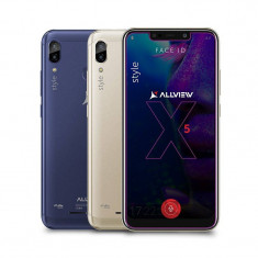 Smartphone Allview Soul X5 Style 32GB 3GB RAM Dual Sim 4G Gold