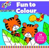 Carte de colorat Fun to Colour, Galt