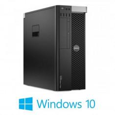 Workstation Refurbished Dell Precision T3600, E5-2620, Quadro 2000, Win 10 Home