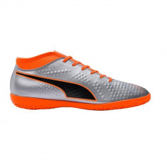 Ghete fotbal barbati Puma One 4 SYN IT Gri 44