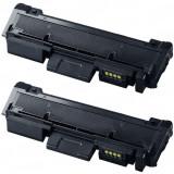 Set 2 cartuse toner compatibile Samsung MLT-D116L, Negru, 6.000 pagini