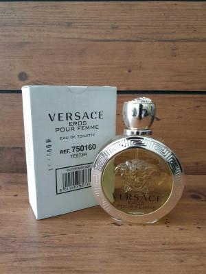 Parfum tester VERSACE EROS POUR FEMME 100ml foto