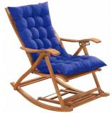 Balansoar scaun gradina rezistent cu suport picior+ PERNA