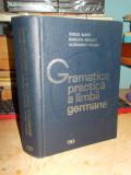 EMILIA SAVIN - GRAMATICA PRACTICA A LIMBII GERMANE , ED. II-A REVIZUITA , 1974