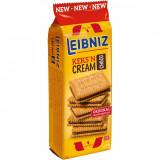 Biscuiti cu crema de cacao Leibniz, 190 g