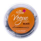 Agrafe pentru par Lila Rossa Vogue, 500 g, 4.5 cm, Negru