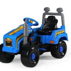 Mega tractor cu pedale, albastru