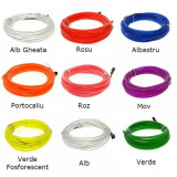 Cumpara ieftin Flexible Neon Light EL Wire, 2m length