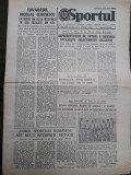 Ziarul Sportul din 31 mai 1978
