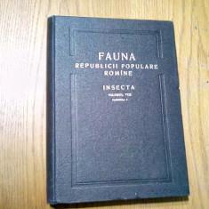 FAUNA R P R*Vol.VIII, Fasc. 3 - INSECTA - HOMOPTERA - PSYLLOIDEA - E. Dobrescu