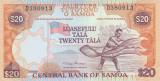 Bancnota Samoa 20 Tala (2002) - P35a UNC