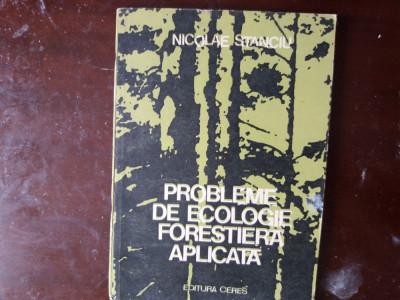 probleme de ecologie forestiera aplicata nic. stanciu foto