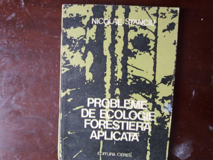 probleme de ecologie forestiera aplicata nic. stanciu
