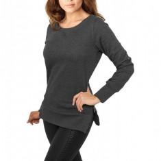 Bluza lunga pentru colanti cu fermoar Urban Classics XL EU