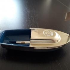 Barcuta jucarie tabla cu motor ceara topita si cutie originala