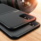 Carcasa silicon protectie telefon OnePlus 8T, suport bumper auto magnetic, Fara snur