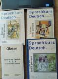 """"""" Sprachkurs Deutsch """" / Editura Tehnica - 4 volume"""