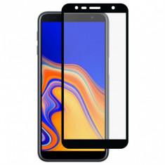 Folie de Sticla 9D Full Glue SAMSUNG Galaxy J6 Plus 2018 (Negru) Smart Glass