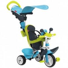 Tricicleta Pentru Copii Smoby Baby Driver Comfort - Blue