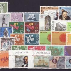 1 - lot timbre neuzate Europa-cept