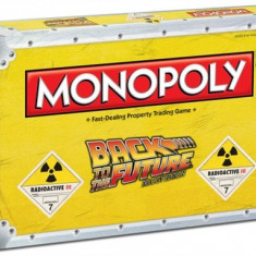 Board Game Monopoly Back To The Future