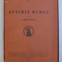 EFTIMIE MURGU de G. BOGDAN-DUICA , 1937
