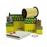 Pachet Revizie Filtre Aer+Polen+Ulei+Combustibil Mann Filter Ford