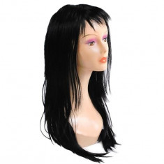 Peruca cu Par Lung de 65cm pentru Femei, Culoare Negru