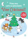 Prima mea carte cu autocolante. Vine Crăciunul!