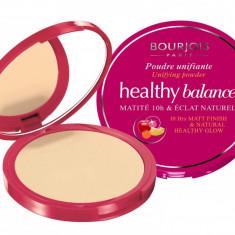 Pudra Compacta Matifianta BOURJOIS Healthy Balance 10h Matt Finish 52 Vanilla 9 gr