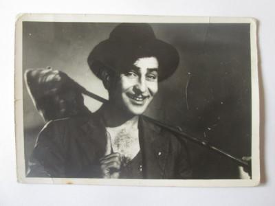 Fotografie colectie 127 x 88 mm cu actorul indian Raj Kapoor 1924-1988 foto