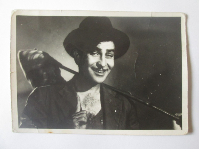 Fotografie colectie 127 x 88 mm cu actorul indian Raj Kapoor 1924-1988