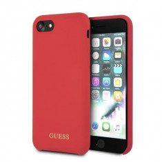 Husa Guess GUHCI8LSGLRE iPhone 7 8 Red Silicon