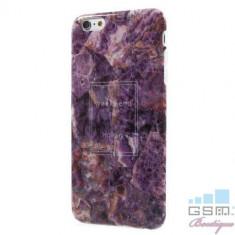 Husa iPhone 6s 6 TPU Marble Pattern Mov, Apple