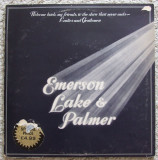 EMERSON LAKE AND PALMER (ELP) - Welcome Back My Friends (3LP -1974) Made in UK