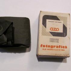 "Cutie carton AZO ""Hartie Fotografica alb negru 6,5 x 9"" comunism / mai are 5 buc"