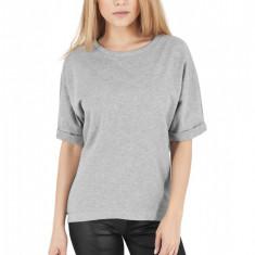 Bluza cu maneca scurta terry Urban Classics XL EU, Gri