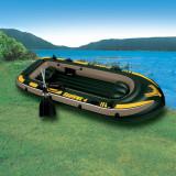 Barca gonflabila Intex 4 persoane Seahawk 68351