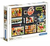 Cumpara ieftin Puzzle High Quality Sushi, 500 piese, Clementoni