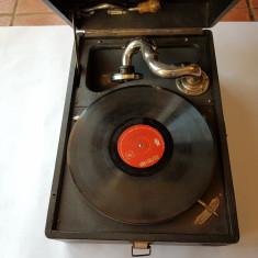 PATEFON ROMANESC -anii 1940- perfect functionabil